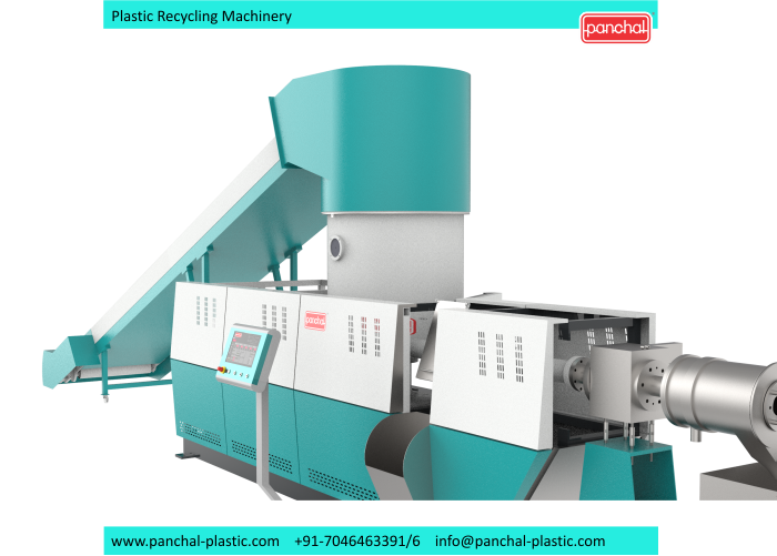 Extruder - In Line 3 in 1 recycling plant 11
