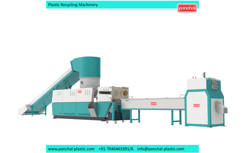 Extruder -PET Recycling Chips
